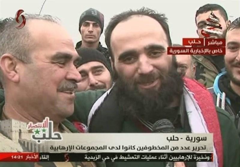 تحریر 15 مخطوفاً فی حلب مقابل مسلح واحد +صور