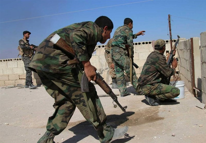 استسلام 280 مسلحا فی درعا السوریة