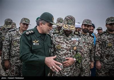مشاهد من مناورات قوات الدفاع الجوی فی جنوبی ایران