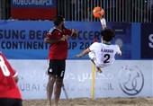 زمانبندی دیدارهای فوتبال ساحلی قهرمانی آسیا اعلام شد