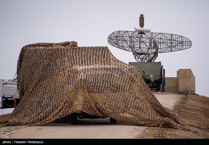IRGC Stages Air Defense Drill