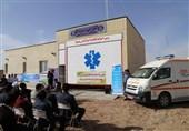 پایگاه اورژانس 115 شاهرخت با کمک خیرین سلامت افتتاح شد