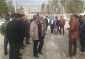 تجمع کارگران کارخانه قند یاسوج
