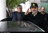 سردار حسین اشتری، فرمانده نیروی انتظامی در دومین نشست تخصصی روسای پلیس آگاهی استانهای کشور