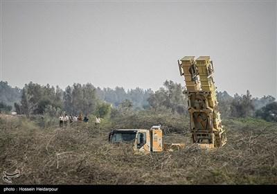 المرحلة الأخیرة من مناورات الدفاع الجوی فی جنوبی ایران