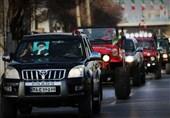 رژه خودروها اصفهان