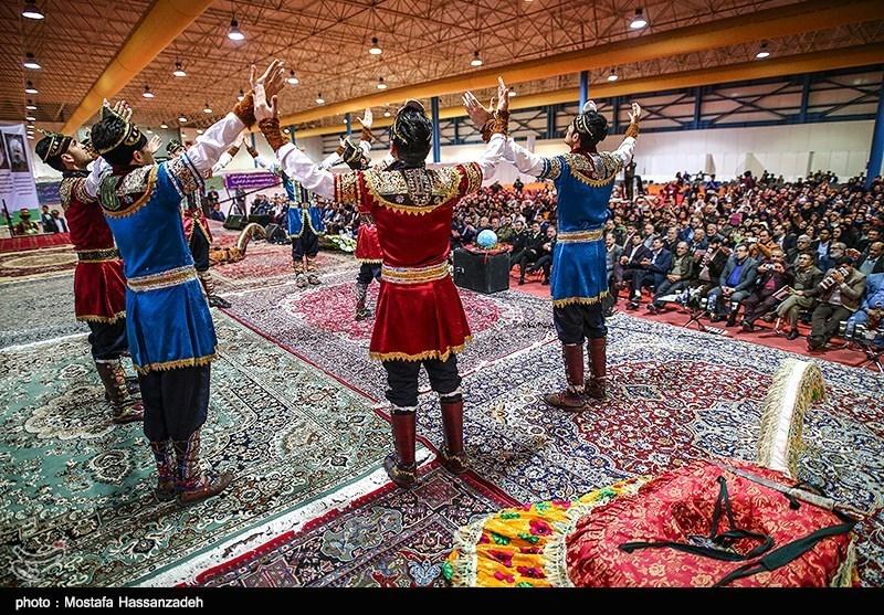 نمایش آیینهای اقوام ایرانی در کرمانشاه