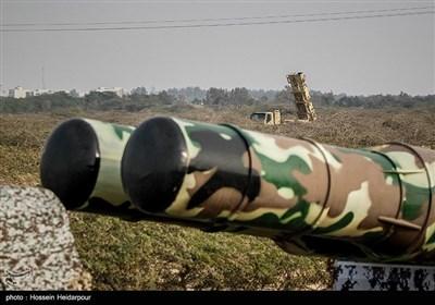 مدافعان آسمان ولایت نامی ایرانی جنگی مشقوں کا آخری مرحلہ