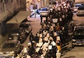 Bahrainis Stage Massive Protest agasint Regime's Blockade on Diraz (+Photos)