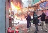 انفجار بازار بغداد