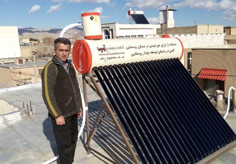 آبگرمکن خورشیدی در اختیار روستائیان خراسان جنوبی قرار میگیرد