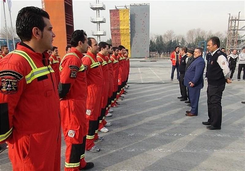 حضور 300 آتشنشان با 120 خودرو در مراسم تشییع پیکر آیتالله هاشمی رفسنجانی