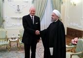 روحانی و سفیر آلمان