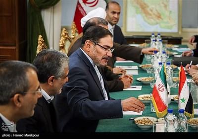 على شمخانی یلتقی وزیر الخارجیة السوری فی طهران