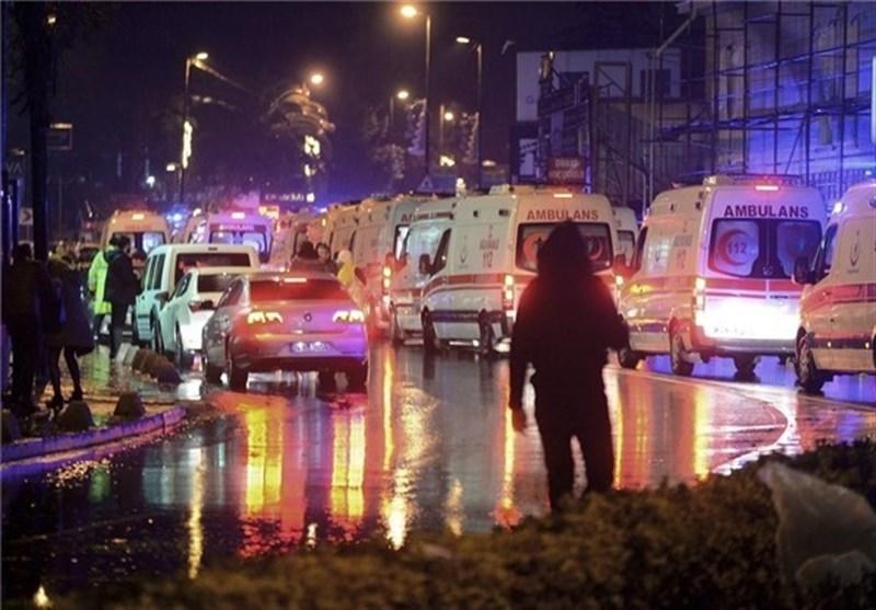 35 کشته و 40 زخمی در حمله بابانوئل مهاجم به باشگاهی در استانبول+فیلم