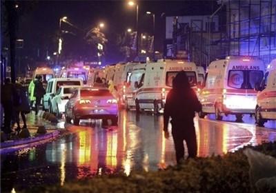 حمله بابانوئل مسلح به باشگاه شبانه استانبول