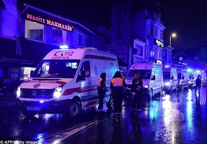 حمله سال نو ترکیه