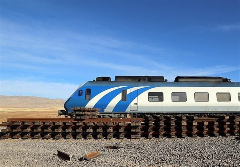 راه آهن همدان تهران