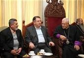 دیدار مدیرعامل سازمان آتشنشانی با اسقف اعظم ارامنه