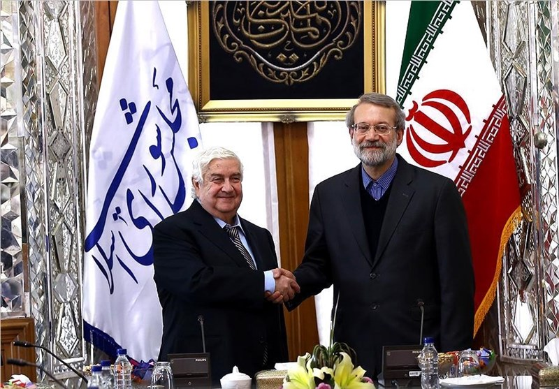 Iranian Speaker Hails Syrian Govenment's Peace Process Efforts