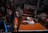مدرسه کپری روستای انار آباد - سیستان و بلوچستان