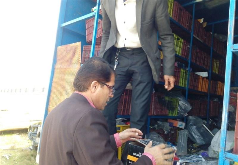 6 میلیارد ریال کالای قاچاق در استان البرز کشف شد