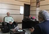 دیدار مدیرعامل خبرگزاری تسنیم با حسین رحیمی فرمانده انتظامی سیستان و بلوچستان