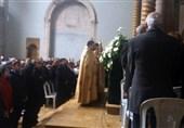 Tahrip Olan Maralyas Kilisesinde Halep Hristiyanlarının Mutluluğu Ve Özgürlük Mesajı