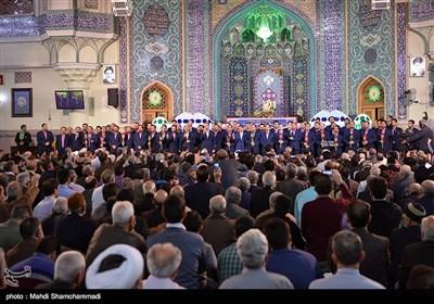 طهران تحتفل بمولد الشاه عبد العظیم الحسنی (ع)