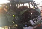 17 کشته و 8 زخمی بر اثر دو سانحه رانندگی