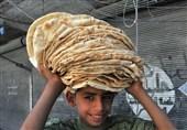 شام کے شہر حلب میں پاکستان بیکری کے نام سے روٹی کیمپ قائم