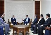 الرئیس الاسد: علینا ان نهنئ ایران بالانتصارات فی سوریا