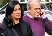 دنیزلی و همسرش
