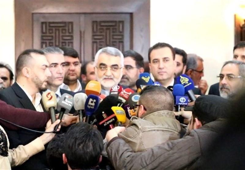 بروجردی من دمشق: الأطراف التی لم تنسق مع الحکومة السوریة یجب علیها الخروج من هذا البلد