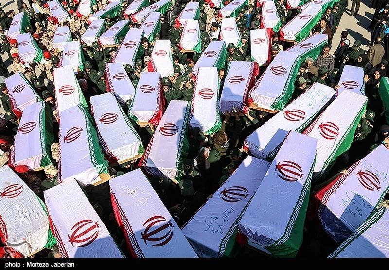 ورود پیکر 98 شهید دفاع مقدس از مرز شلمچه