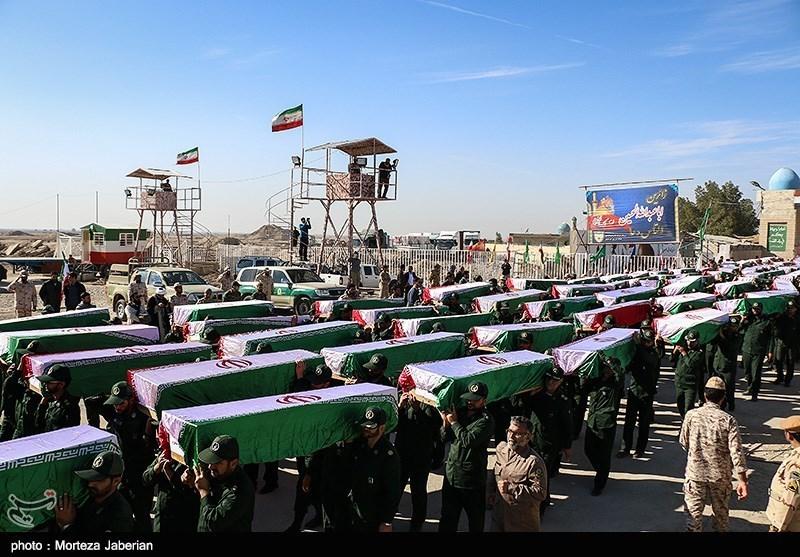 ورود پیکر 48 شهید تازه تفحص شده به کشور