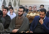 تجلیل از حافظان قرآن در مسجد جابری تهران