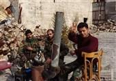 کشف گور جمعی 23 سرباز سوریه در حلب