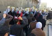 آغاز راهپیماییهای مردم بحرین در اعتراض به صدور حکم اعدام علیه شهروندان این کشور + فیلم