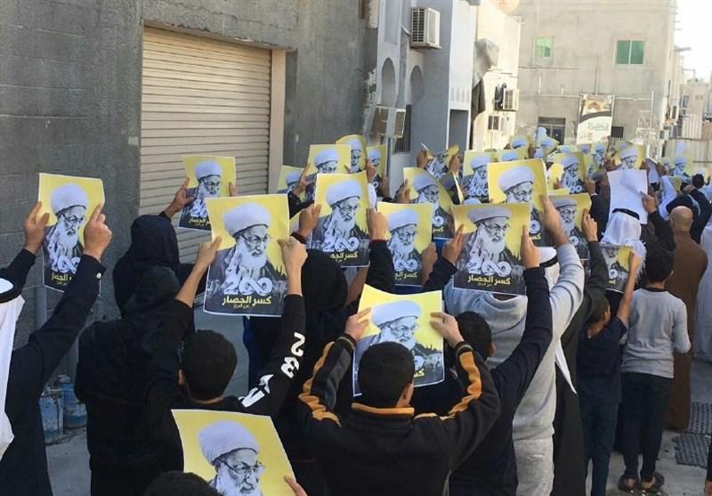 احتجاجات بالبحرین على دخول حصار منزل آیة الله قاسم یومه المئتین + فیدیو وصور