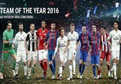 آرای بیشتر راموس نسبت به رونالدو و مسی در تیم منتخب سال 2016 یوفا