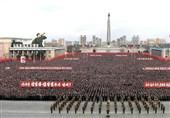 راهپیمایی کره شمالی