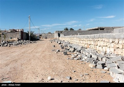Quake-Hit Seifabad Village South of Iran