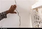 خسارات زلزله در روستای سیف آباد - فارس