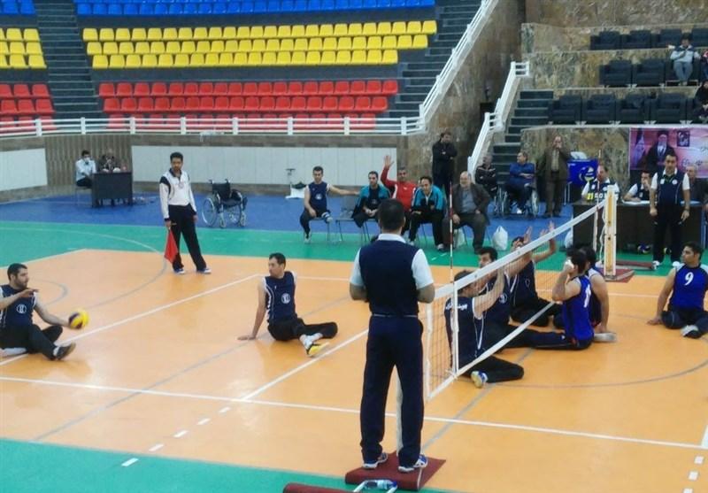 والیبال نشسته تیم بهزیستی مازندران