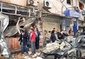 ترک سرحد کے قریب شامی علاقے اعزاز میں دھماکے کی فلم و تصاویر