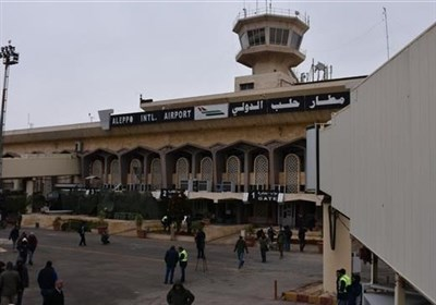 حملات موشکی تروریستها به حومه ۲ فرودگاه در حلب
