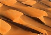 تصویری خارقالعاده از کویر