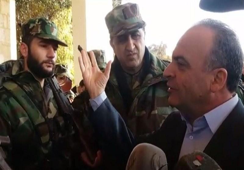 بالفیدیو.. وزراء سوریون یزورون حلب ویعلنون بدء إعادة إعمارها