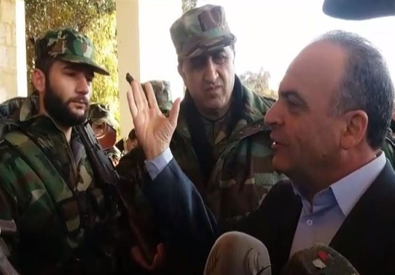 رئیس الوزراء السوری